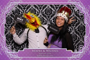 michael shaina toronto wedding photobooth photos from liberty grand