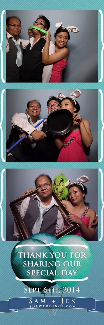 samul jennifer scarborough golf and country club chinese wedding photobooth photos