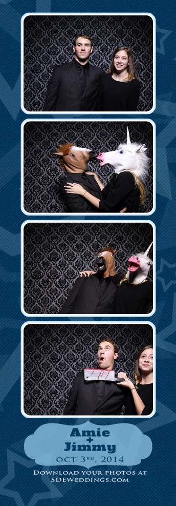 amie jimmy atlantis pavilion wedding photobooth photos