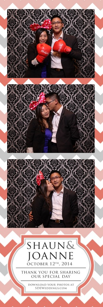 joanne shaun chinese weddings photobooth chateau le jardin