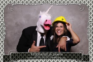 toronto arcadian loft wedding photoboooth photos stephanie james