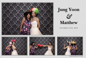 jung yoon matthew toronto wedding photobooth rental pictures from le parc