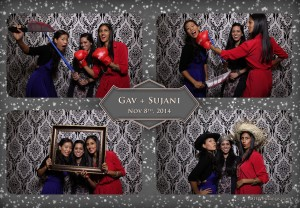 toronto photobooth rental at chandni banquet hall for gav & sujani