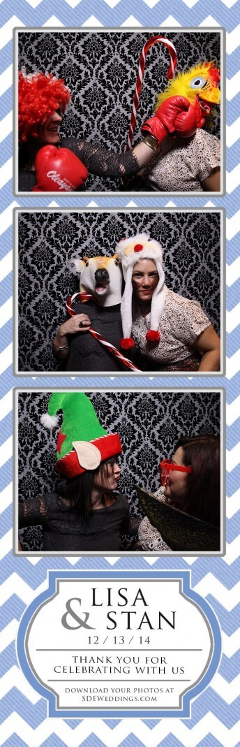 Toronto Photo Booth at Cambridge Mill for Lisa + Stan