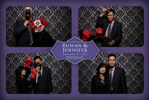 Doctor's House Toronto Wedding Photo booth For Jennifer + Ruwan