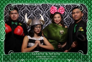 oakville winter wedding video photo booth rental 12