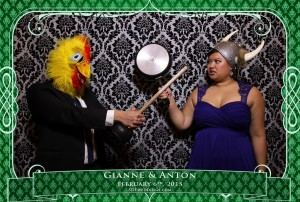 oakville winter wedding video photo booth rental 15