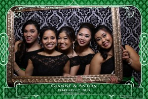 oakville winter wedding video photo booth rental 2