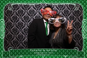 oakville winter wedding video photo booth rental 4