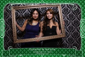 oakville winter wedding video photo booth rental 7