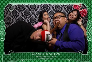 oakville winter wedding video photo booth rental 8