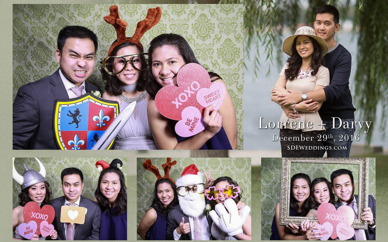 Toronto Filipino Winter Wedding at Fantasy Farm Photobooth and Video 2
