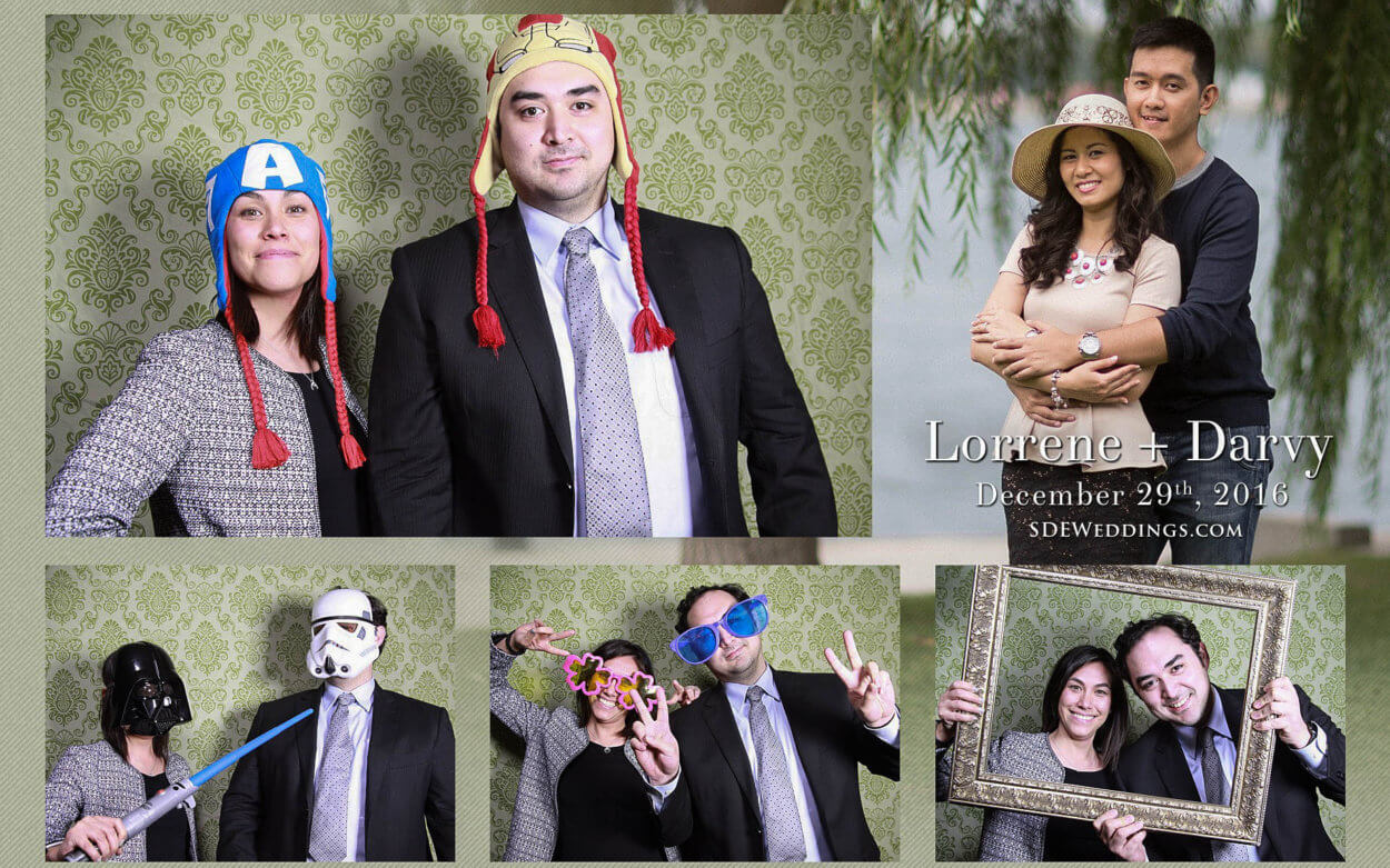 Toronto Filipino Winter Wedding at Fantasy Farm Photobooth and Video 3
