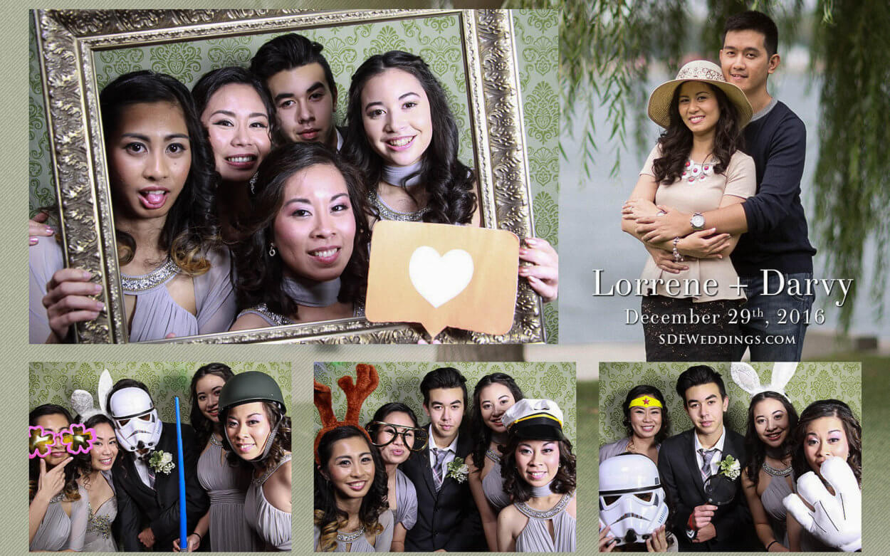 Toronto Filipino Winter Wedding at Fantasy Farm Photobooth and Video 4
