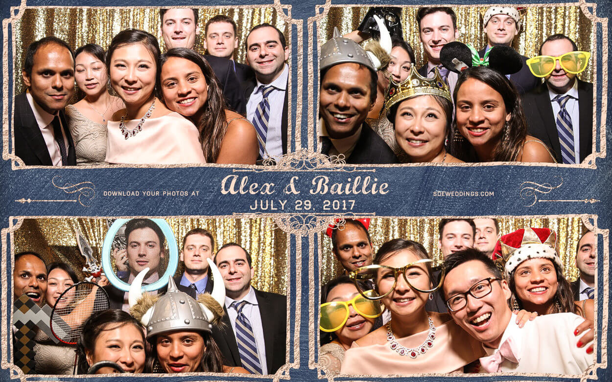 Casa Loma Toronto Chinese Wedding Photo Booth Rental Photos from the reception of Alex & Baillie