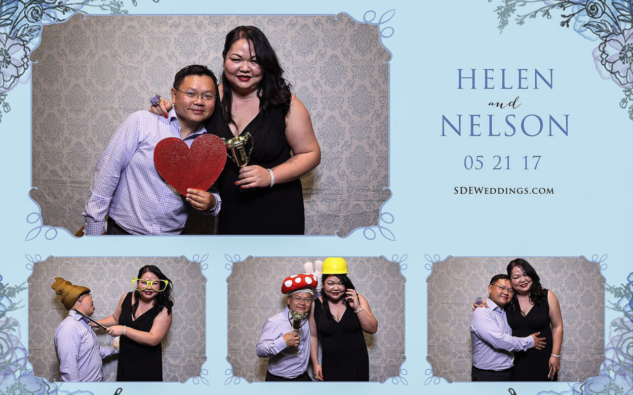 Toronto Guild Inn Chinese Wedding Photo Booth Rental