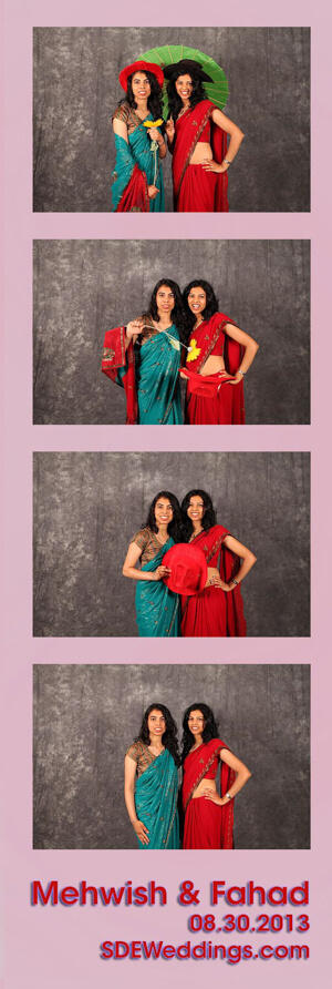 brampton wedding photobooth mehwish fahad