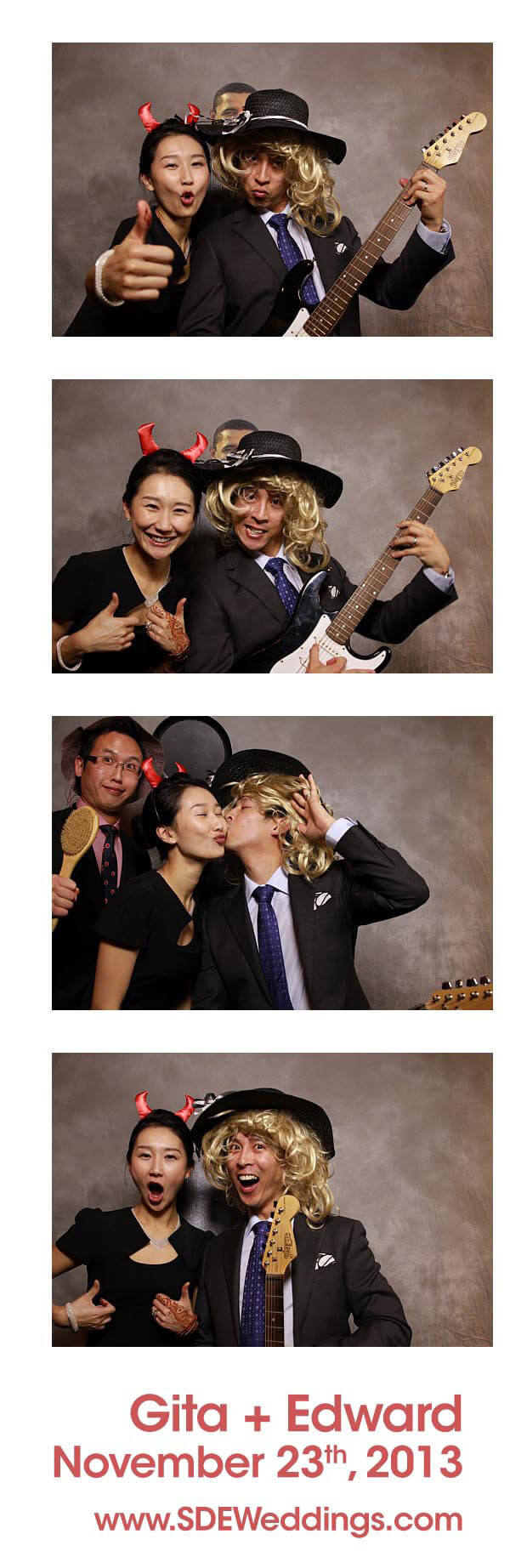 Gita Edward Toronto Party Photobooth Rental Photos
