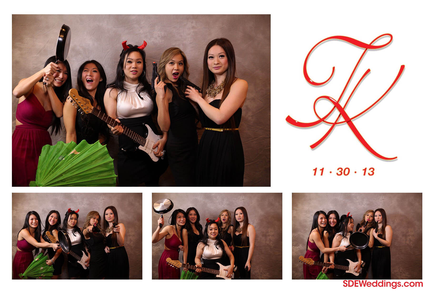Toronto Markham Wedding Photobooth Rental Photos Tommy Kathleen