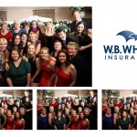 Toronto Ajax Christmas Party Photobooth | WB White Insurance Christmas Party | Oshawa & District Shrine Club