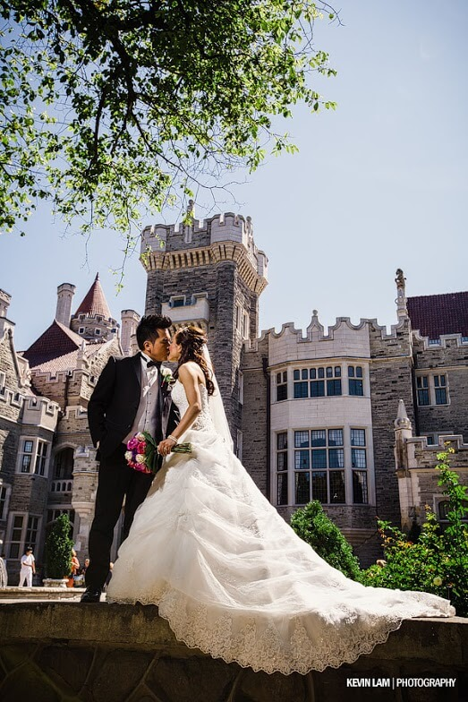Wedding at CASA LOMA is stunning