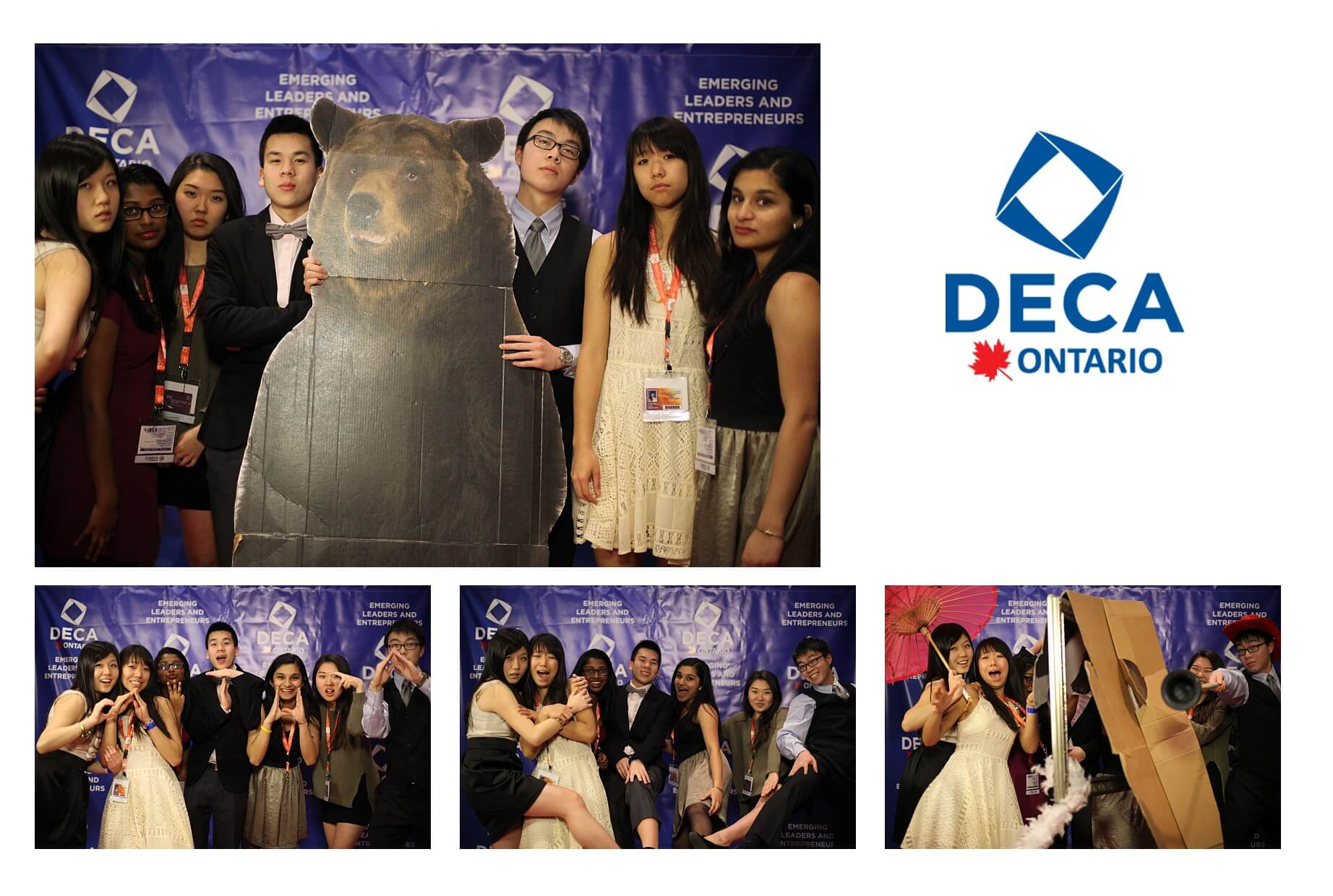 deca ontario 2014 conference photobooth photos