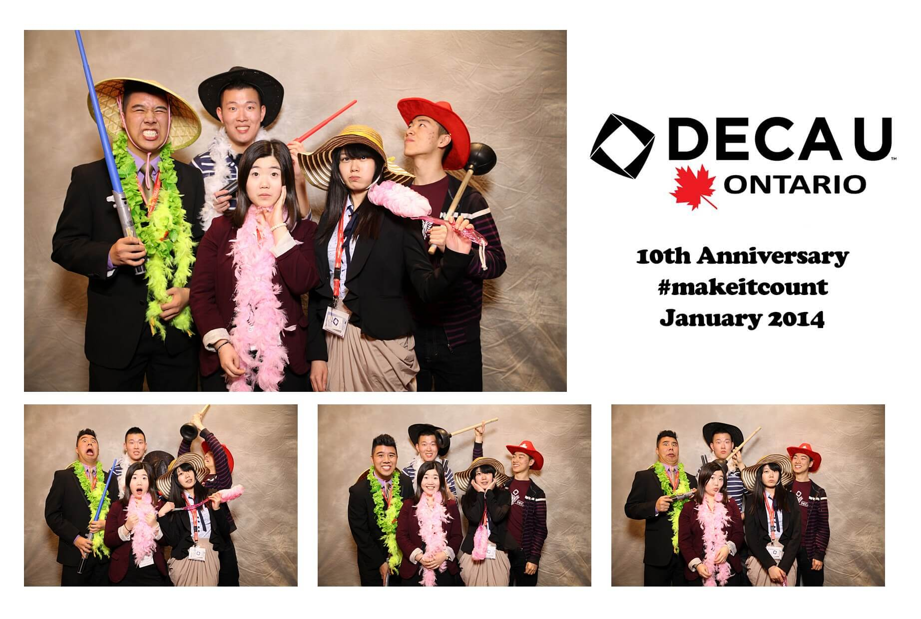 deca u 2014 conference photobooth photos