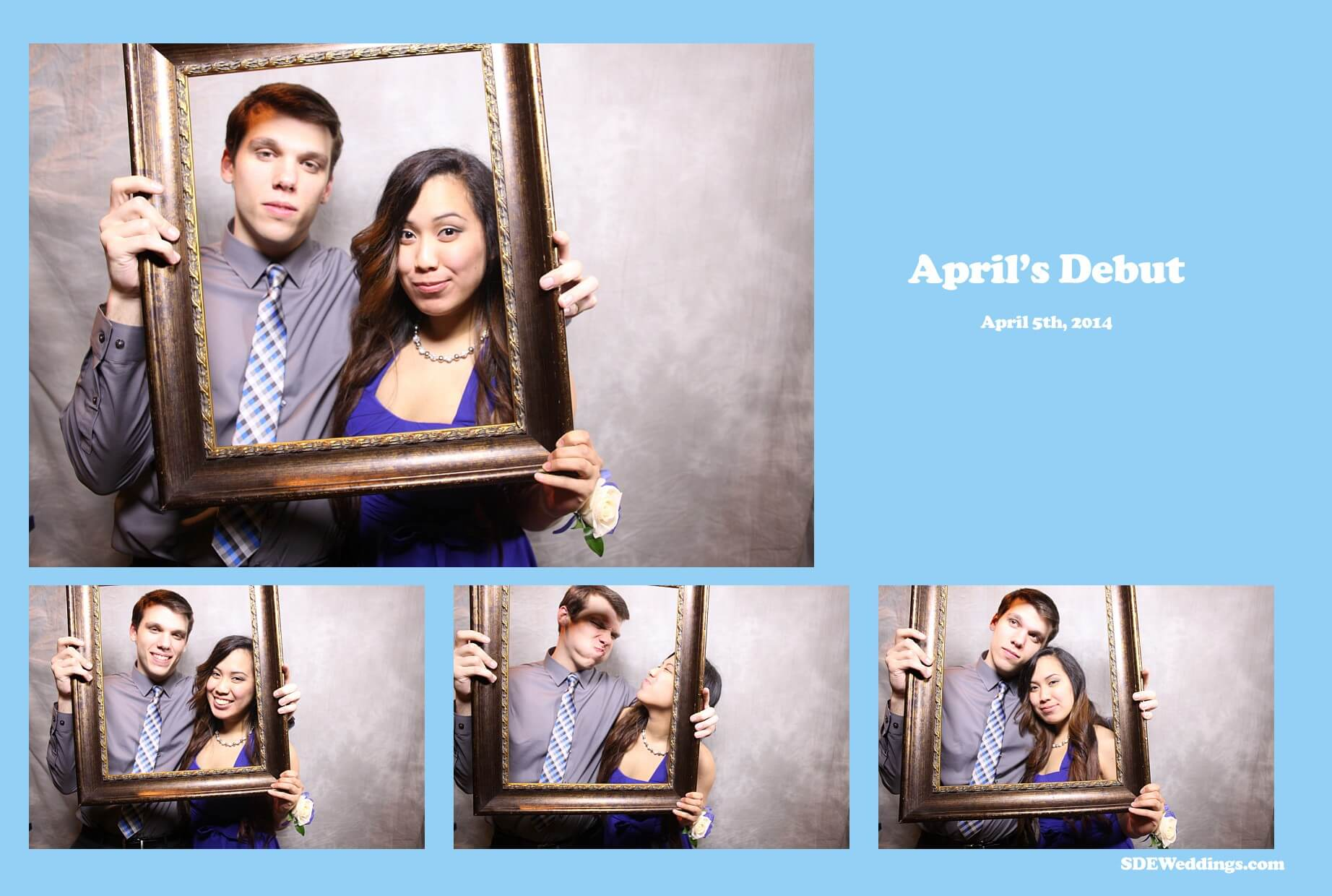 toronto party photobooth april's debut