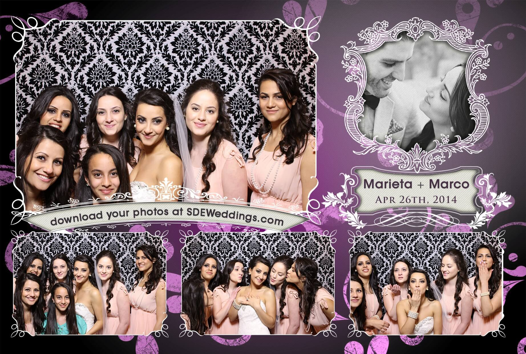 toronto photo booth rental 1 plus 3 design 2