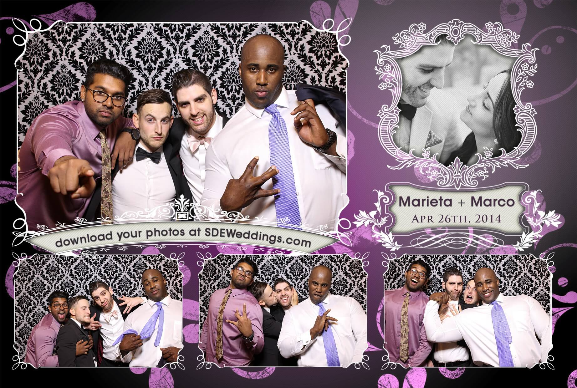 toronto wedding photobooth marco marieta old mills inn