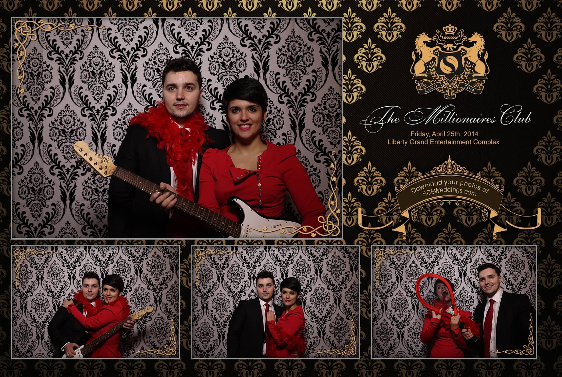 toronto Graduation Party Photobooth York Schulich Liberty Grand