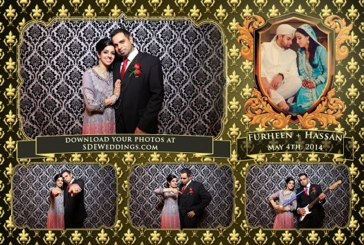 Toronto Pakistani Wedding Photobooth videographer