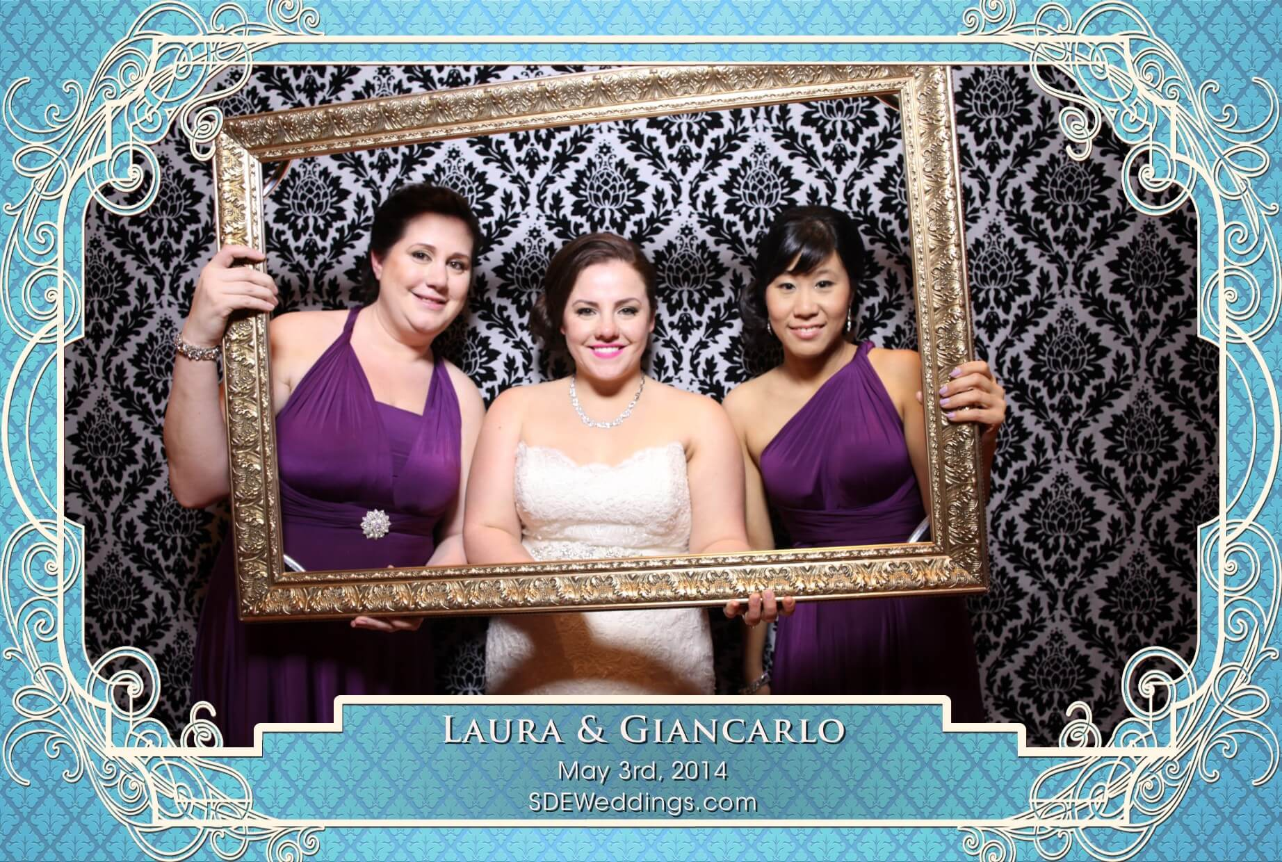toronto photo booth rental single frame design 5