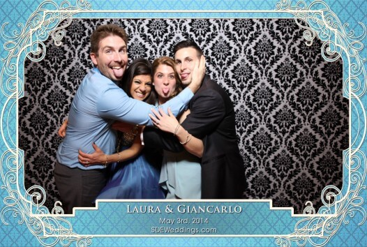 toronto italian wedding Photobooth The Terrace Banquet Centre