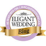 As Seen On Elegant Wedding Blog