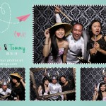 Toronto Photobooth for Ellie & Tommy at Atlantis Pavilion