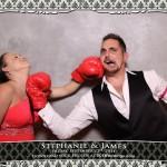 Toronto Arcadian Loft Wedding Photobooth For Stephanie and James