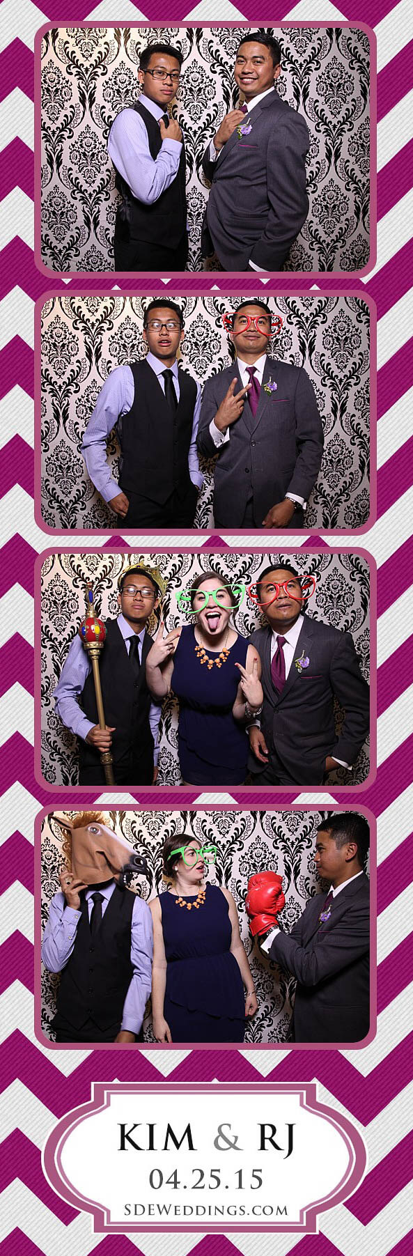 Toronto Filipino Wedding Photo Booth Rental at Teatro Conference Centre Milton 1