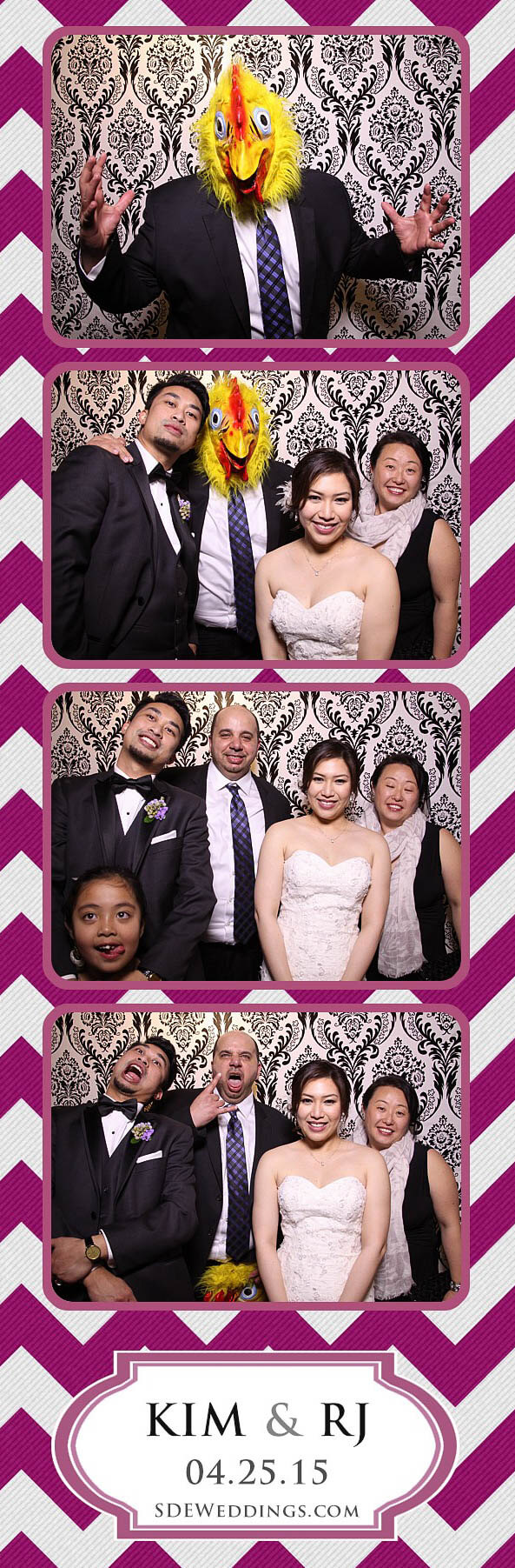 Toronto Filipino Wedding Photo Booth Rental at Teatro Conference Centre Milton 12