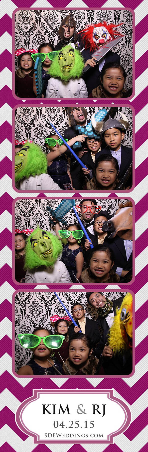Toronto Filipino Wedding Photo Booth Rental at Teatro Conference Centre Milton 2