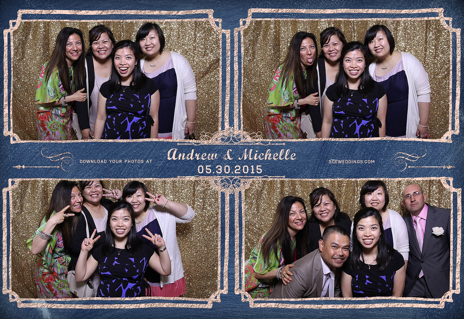Toronto Police Wedding Photobooth at Peel Regional Police Association Banquet Hall 1