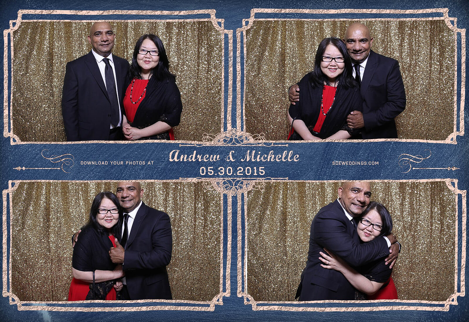 Toronto Police Wedding Photobooth at Peel Regional Police Association Banquet Hall 2