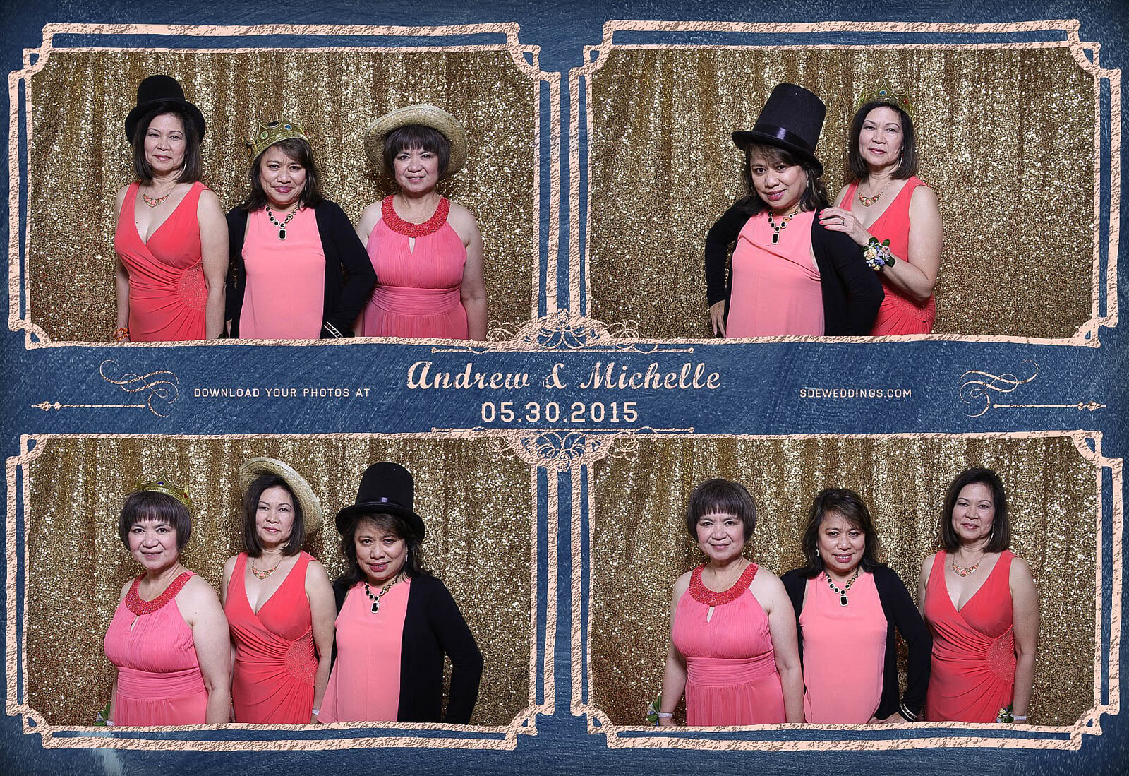 Toronto Police Wedding Photobooth at Peel Regional Police Association Banquet Hall 3