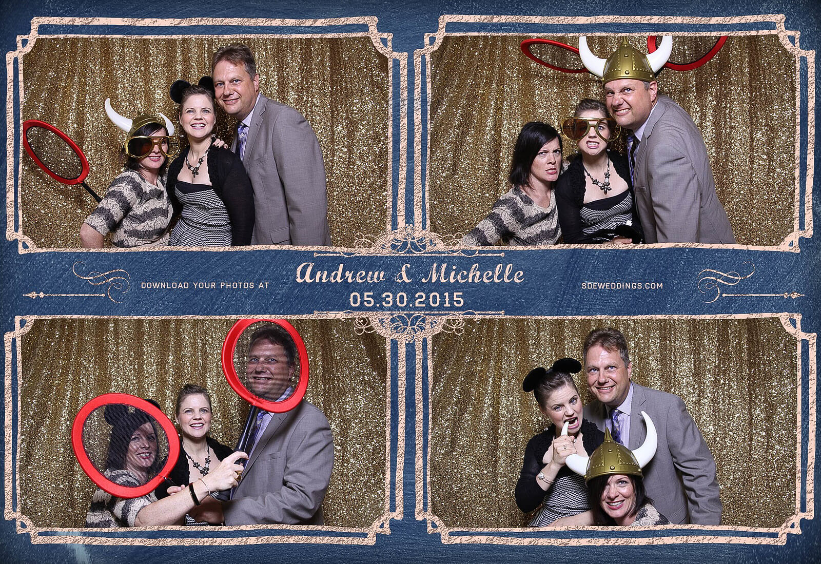 Toronto Police Wedding Photobooth at Peel Regional Police Association Banquet Hall 5