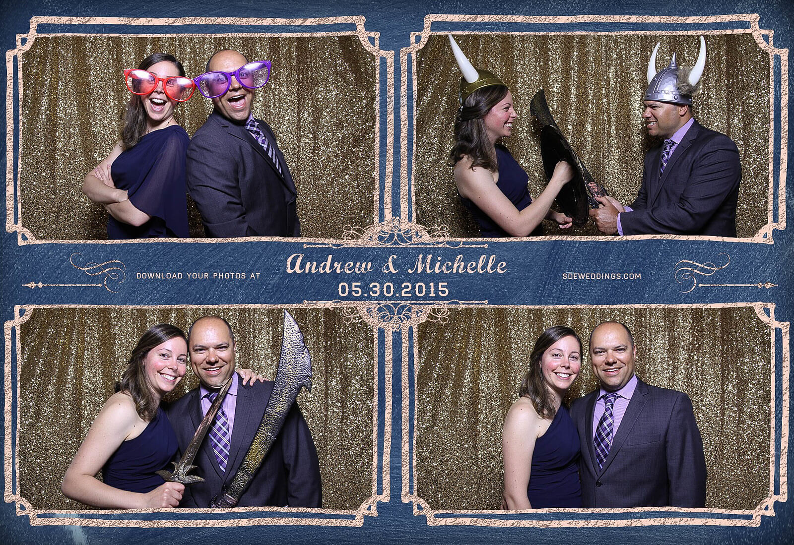 Toronto Police Wedding Photobooth at Peel Regional Police Association Banquet Hall 7