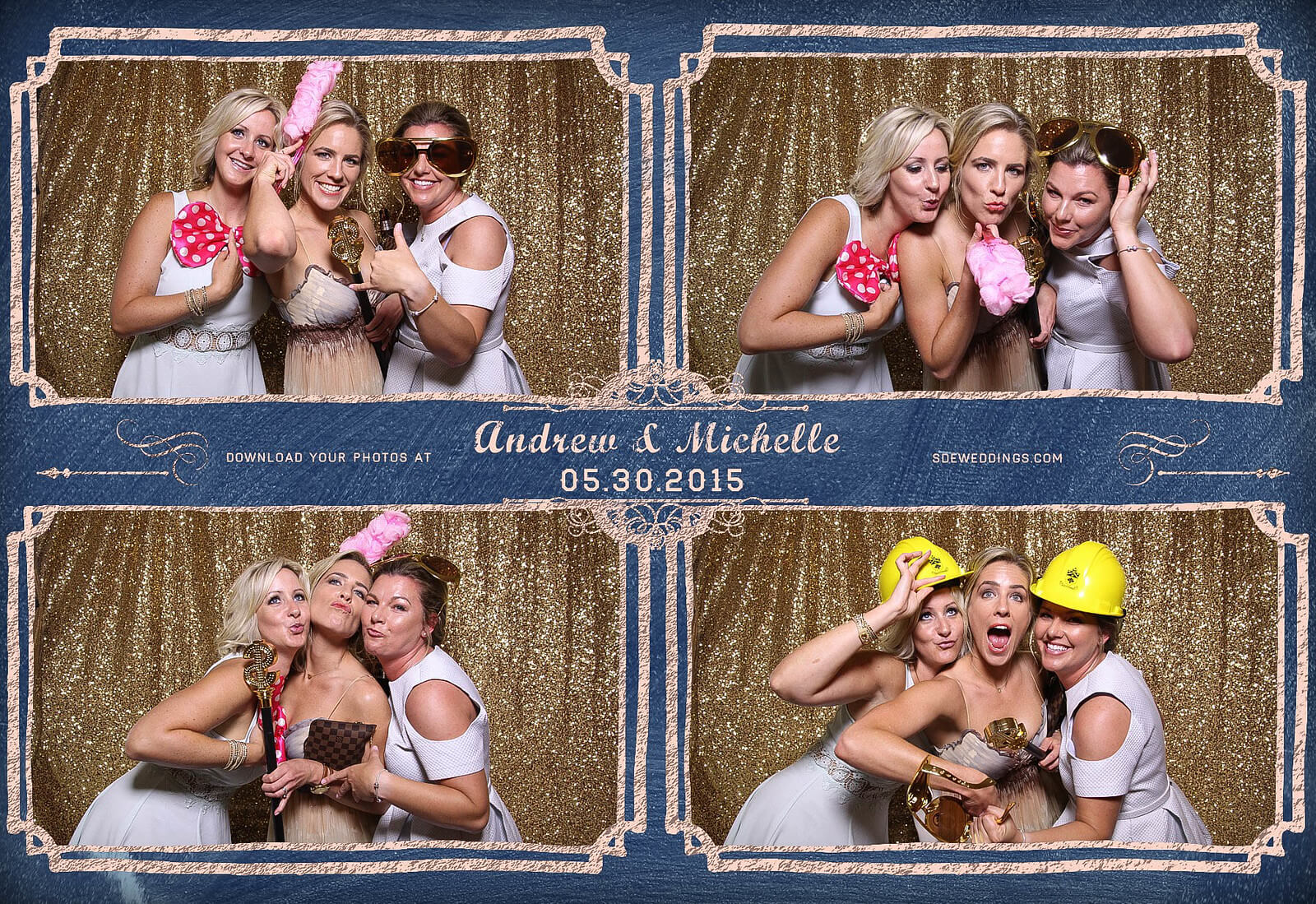 Toronto Police Wedding Photobooth at Peel Regional Police Association Banquet Hall 8