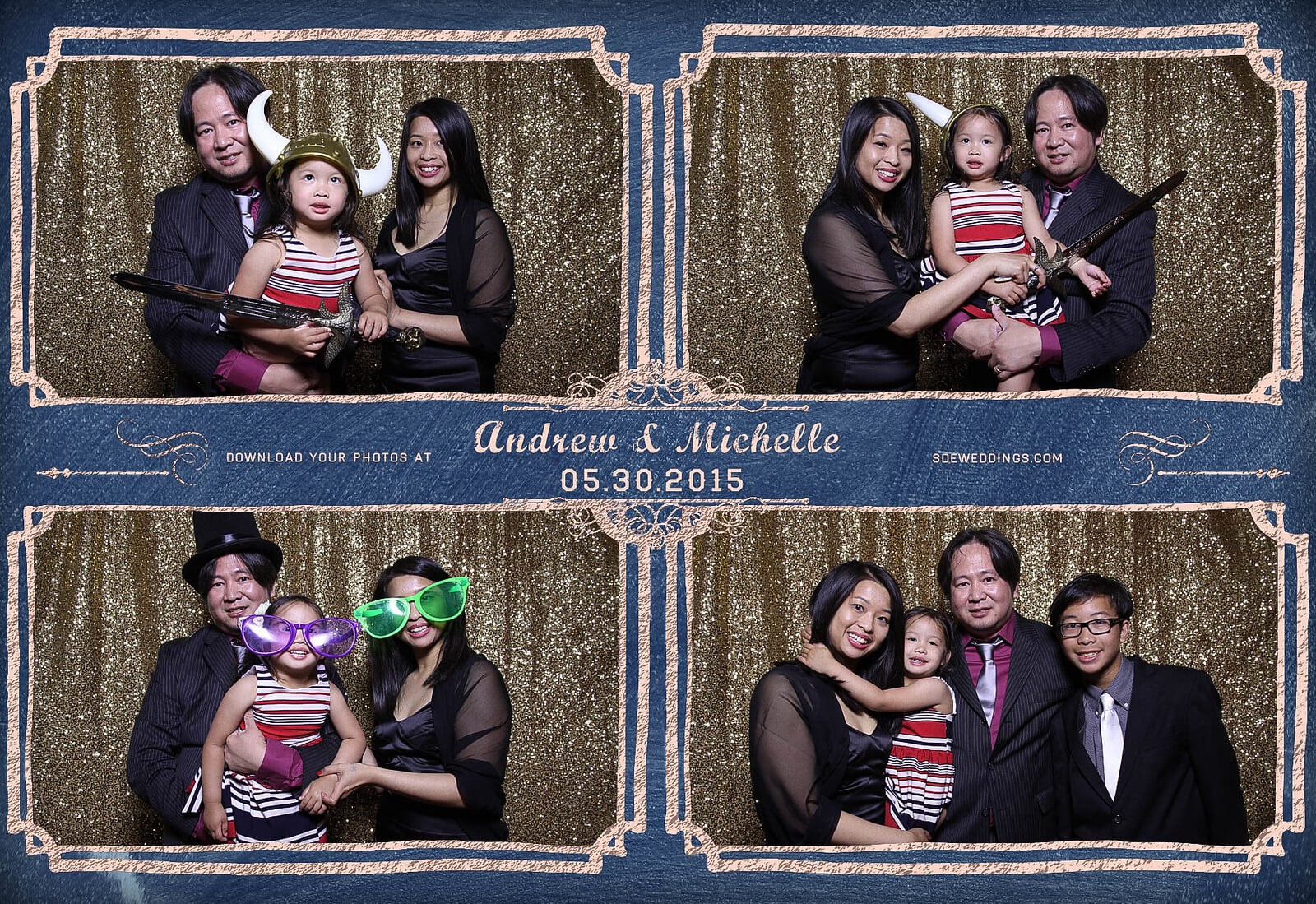 Toronto Police Wedding Photobooth at Peel Regional Police Association Banquet Hall 9