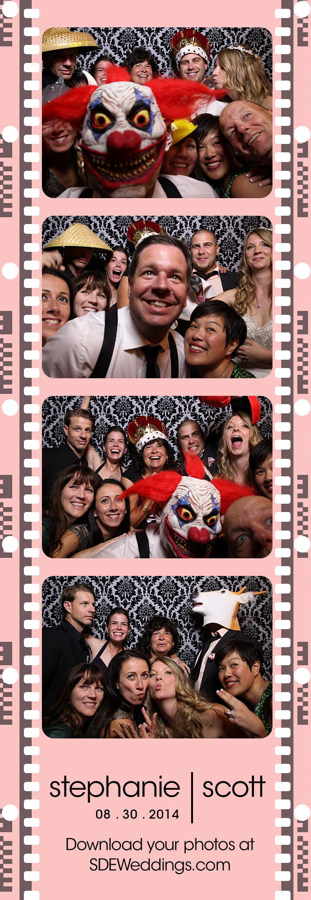 Mississauga Glenerin Inn Wedding Photobooth