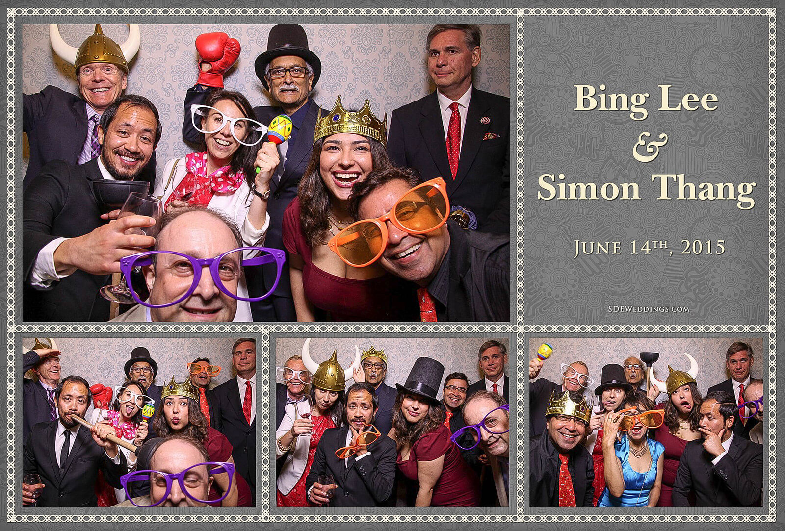 University of Toronto Hart House Wedding Photobooth Rental 10