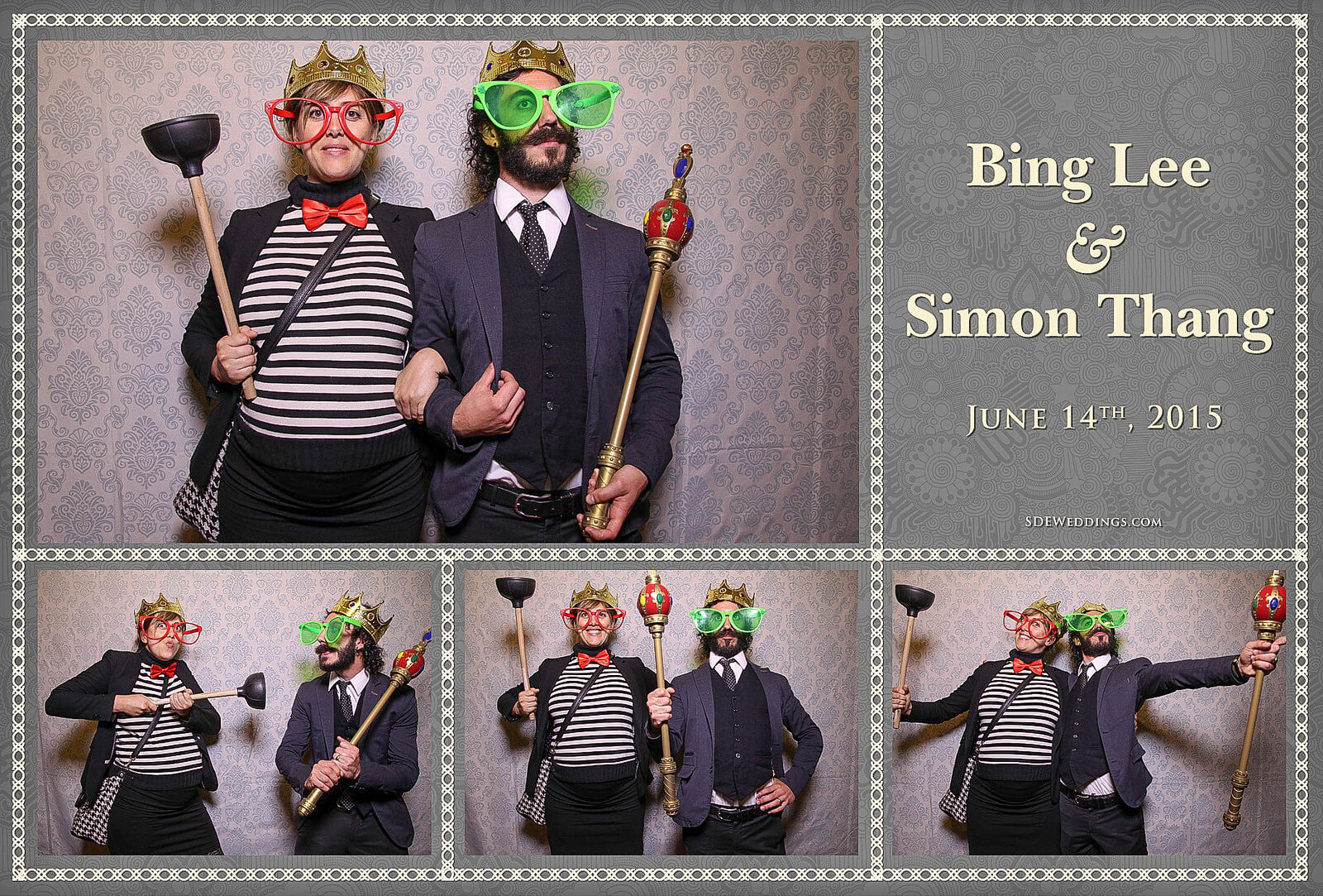 University of Toronto Hart House Wedding Photobooth Rental 2